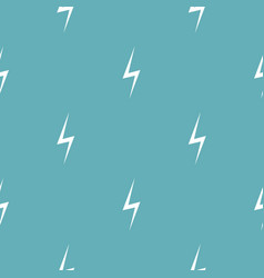 lightning pattern seamless blue vector image