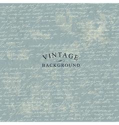 manuscript vintage background template vector image