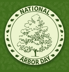 National arbor day-03 vector