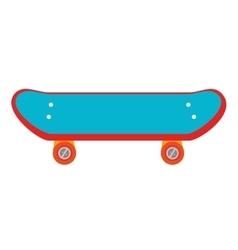 skate sport activity hobby design vector image