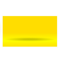 Yellow gradient studio use vector