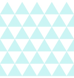 Blue White Triangle Background vector image vector image