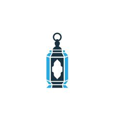 lantern colorful icon symbol premium quality vector image vector image