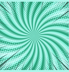 Abstract radial bright comic background vector