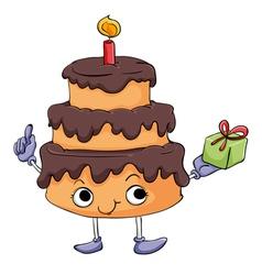 Cartoon Cake vector