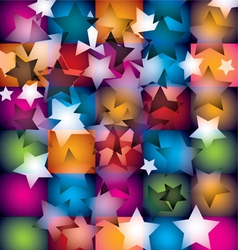 disco stars vector image