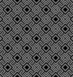 Geometric seamless pattern in Celtic style vector image