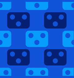 mechanism face seamless pattern vector image