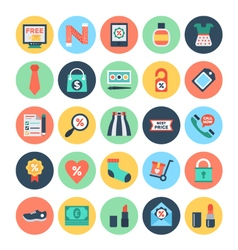 Shopping and e commerce icons 3 vector