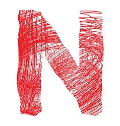Slova saranaN resize vector image