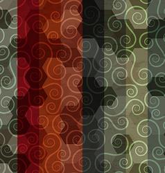 Vintage sipral pattern vector