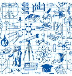 Science And Education Seamless Pattern vector image vector image