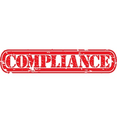 Compliance stamp vector image