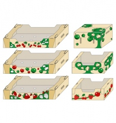 packing container vector image vector image