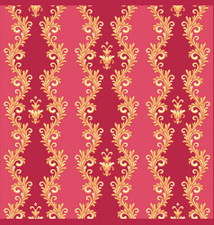 Barocco ctyle pattern vector