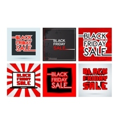 Black friday template vector