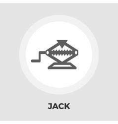 Jack flat icon vector image