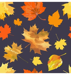 Leaf fall vector