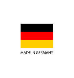 made in germany sign vector image