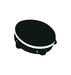 tambourine vector image