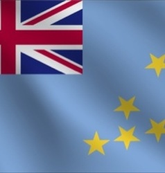 Tuvalu flag vector image