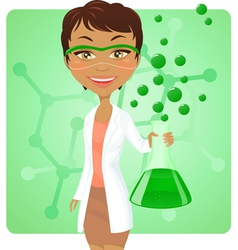 Green chemistry vector image