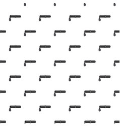 Pipe with oil pattern vector
