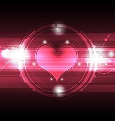 cardiograph technology vector image