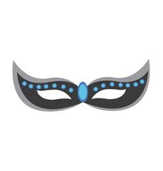Brazilian carnival mask symbol design vector