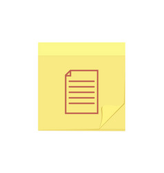 comment document file message note task icon vector image