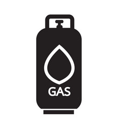 Liquid propane gas icon symbol design vector