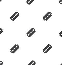 razor seamless pattern vector image