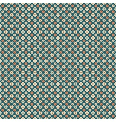 Retro abstract seamless patterns vector image