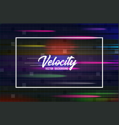 Velocity background 06 speed movement vector