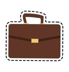 briefcase accessory icon vector image vector image