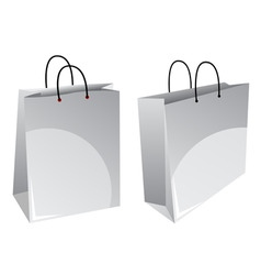 vector shopping bags vector image