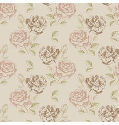 Vintage seamless floral vector image