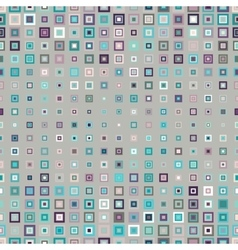 seamless pattern geometric squares vector image