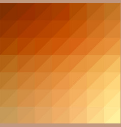abstract orange red modern mosaic pattern vector image vector image