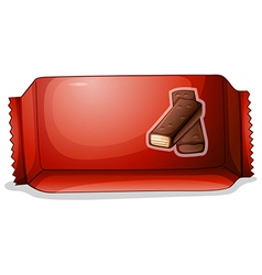 A pack chocolate vector