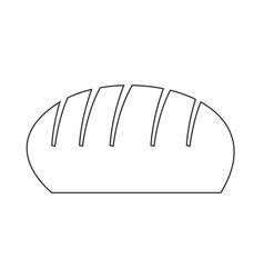 Bread icon design vector