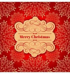 Christmas background Greeting Card vector