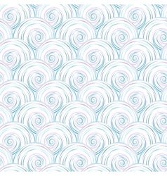 pearl pattern grey vector image