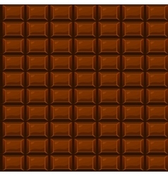 seamless texture Chocolate vector image