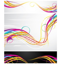 Colour abstraction from lines vector