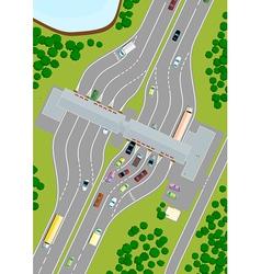 Highway Toll vector image vector image
