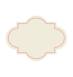 label decoration premium template blank design vector image