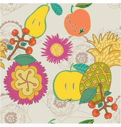 hand drawn craft paper vector image vector image
