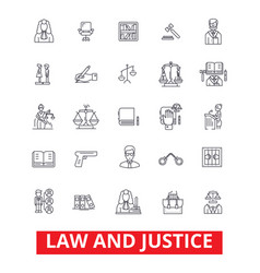 law firm lawyer business attorney scales of vector image vector image
