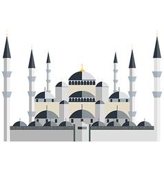 Mosque Blue Mosque vector image